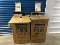 Vintage Sansui SP5000 Speakers NEW IN THE BOX!! New Old Stock NOS