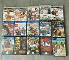 Lot de 15 Jeux : PS2 - PS3 - PS4 - PC FIFA SIMS NBA ETC....
