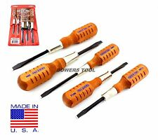 Grace 5pc Screwdriver Set for Browning Gun Care Flat Slotted HG-5 Made in USA