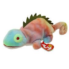 TY Beanie Baby - IGGY the Iguana (tye-dyed w/ spikes) (9.5 inch) - MWMTs