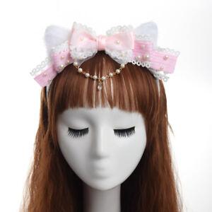 Lolita Headband Hair Band Hair Accessory Headwear Headdress Cat Ear Cosplay