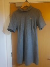Rare Fred Perry Grey Dress, Fully Lined, Sz 16