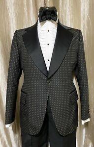 Vintage Mens  Tuxedo Coat 40R