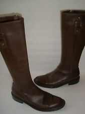 PHILOSOPHY DI ALBERTA FERRETTI RIDING LEATHER BOOT US 9 EUR 39 MADE IN ITALY
