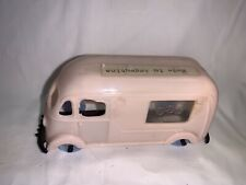 Vintage Hard Plastic Toy Van Made In Argentina