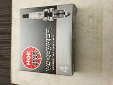 NGK 5155, FR4, V-Power, Spark Plug, Set of 4