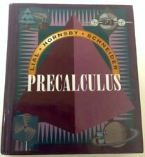 PRECALCULUS 1999 LARGE HARDCOVER BOOK Worked-Out Solutions STUDENT MANUAL LkNEW!