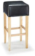 Taburetes y barras de comedor de piel para el hogar de color principal negro