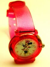 MINNIE MOUSE PINK NUMERAL WATCH