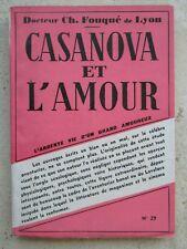 CASANOVA ET L'AMOUR, 1949.