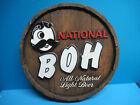 VINTAGE NATIONAL BOH BEER ADVERTISING SIGN DISPLAY NATIONAL BEER BALTIMORE MD