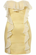 "Topshop heart frill bodice dress "" Dress Up by Topshop "" UK 14 ( New )"