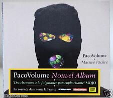 nouvel album Cd PACO VOLUME : Massive Passive neuf Paco Volume france digipack