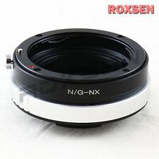 Nikon F mount G DX AF-S lens to Samsung NX camera adapter NX300 NX11 NX20 NX100