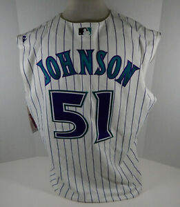 Arizona Diamondbacks Randy Johnson #51 Replica White Jersey Vest Majestic NWT 2
