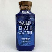 1 Bath & Body Works WAIKIKI BEACH COCONUT Shea & Vitamin E Body Lotion