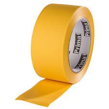 Kip Prima PVC-Schutzband gerillt gelb 50mm 33m Klebeband Putzerband Abklebeband