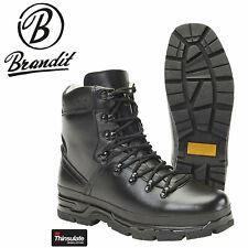 Brandit Herren BW Bergschuh 9038 Boots Leder Wandern Taktische Outdoor Schuhe