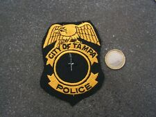 PATCH POLICE ECUSSON COLLECTION  USA   police tampa
