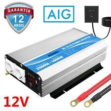 GIANDEL Inversor de corriente 2000W 12V DC a 220V 230V AC con control remoto