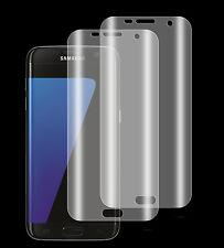 2 x Panzerfolie Samsung Galaxy S7 Edge PET 3D Komplett Rand Displayschutz Folie