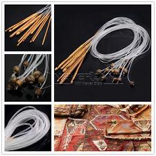 Set completo 12 pz uncinetto uncinetti tunisino Afghan in bamboo 3-10mm