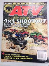 ATV Magazine 4x4 Shootout Kunz Mower Deck Summer 2009 032717nonR