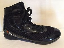 Rival Rsx Speed Black Boxing Wrestling Mma Shoes Boots Us Sz 6 Eu 40