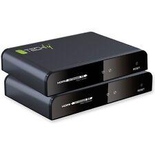 Techly Extender HDMI HDbitT con IR su Cavo Cat. 5E/6 fino a 120m
