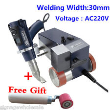 AC220V Weldy Foiler Plastic Welder Hot Air Welder Machine 30mm Welding Width