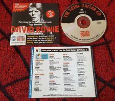 DAVID BOWIE ** Ziggy Stardust ***RARE & ORIGINAL MAGAZINE PROMO CD