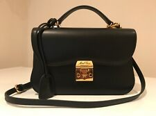 £2,250 MARK CROSS 'Dorothy' Top Handle Shoulder Bag, Black, Excellent Condition.