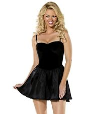 Bijou Boutique Black Mini Dress L UK 16/18 Sexy black dress - Ladies Fancy Dress