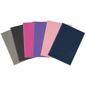 24-Pack Pocket Notebook Lined Mini Blank Book Soft Cover 6 Colors 3.5 x 5 inch