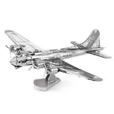 B-17 Flying Fortress: Metal Earth 3D Laser Cut Aeroplane Model Kit 2 sheets
