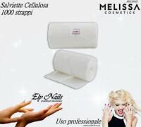 Salviette Cellulosa Pad per Unghie 1000 strappi - Melissa - Accessori Nail Art