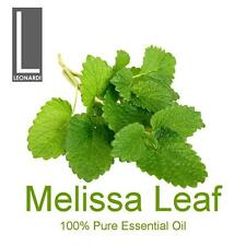 MELISSA LEAF 100% PURE ESSENTIAL OIL 10ML AROMATHERAPY