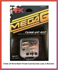 AFX Mega G Chassis Tune-Up Kit Pickup Shoes, Axle, Springs & Tires Fits Tomy