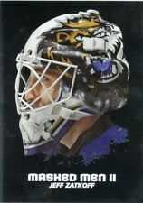 09/10 BETWEEN THE PIPES MASKED MEN II MASK SILVER #MM-31 JEFF ZATKOFF *44366