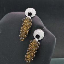 Echte Schönheits-Ohrschmuck aus Weißgold