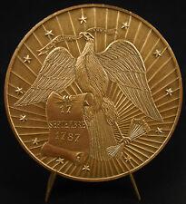 Médaille Simon Boussiron ingénieur et entrepreneur béton armé Port d'Agrès medal