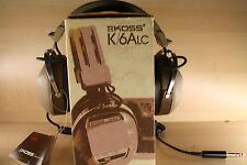 Vintage Koss K/6ALC Headphones, New in Original Box