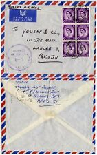MALTA to PAKISTAN CENSORED L4 ST PATRICK BARRACKS FPO168 WILDINGS FORCES AIRMAIL
