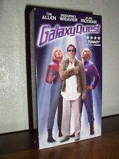 Galaxy Quest starring Tim Allen & Sigourney Weaver (Vhs, 2000)