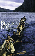 BLACK ROBE ORIGINAL MINT ROLLED MOVIE POSTER 1991 QUEBEC CANADA LOTHAIRE BLUTEAU