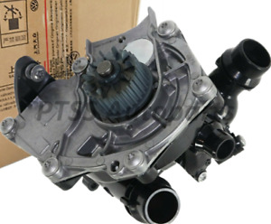 06K 121 111N Genuine Water Pump Thermostat Assembly for VW Jetta AUDI 1.8 2.0T