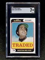 1974 Topps Traded #330 Juan Marichal  SGC 7