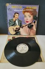 The Big Bopper Chantilly Lace EXTREMELY RARE!!!  PROMOTIONAL RECORD LP EXCELLENT