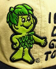 JOLLY GREEN GIANT baseball cap 1980s Little Sprout vegetables hat General Mills