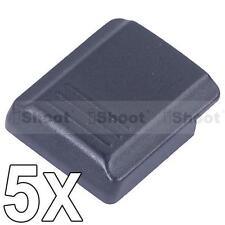 5 x Blitzschuhabdeckung/Schutzkappe FA-SHC1AM/B for Sony Minolta DSLR Kamera